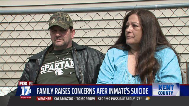 Family Outraged at Kent Co. Officials After Inmate Suicide