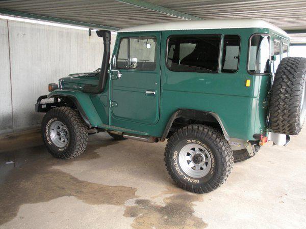 Rustic Green FJ40