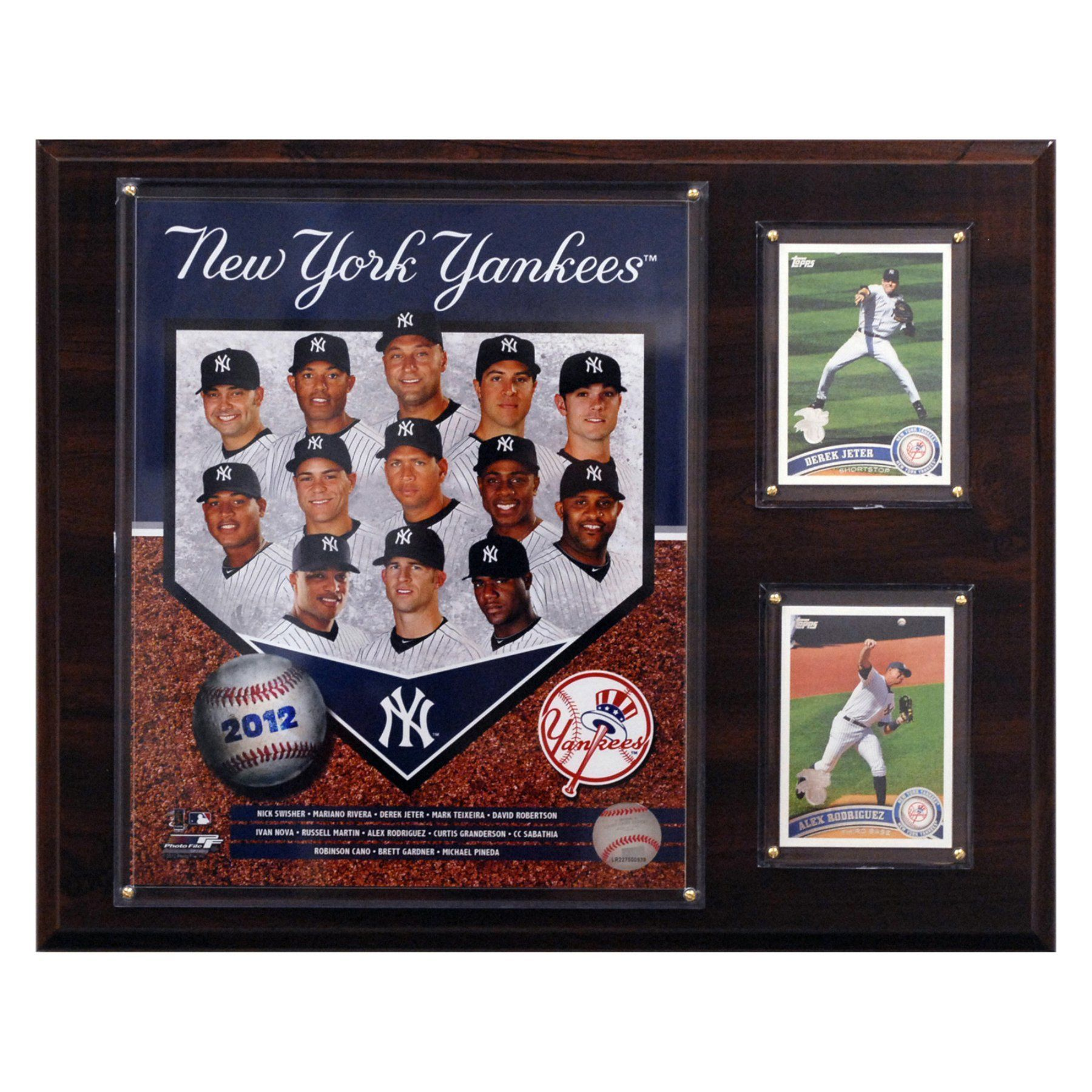 MLB 12 x 15 in. New York Yankees 2012 Team Plaque