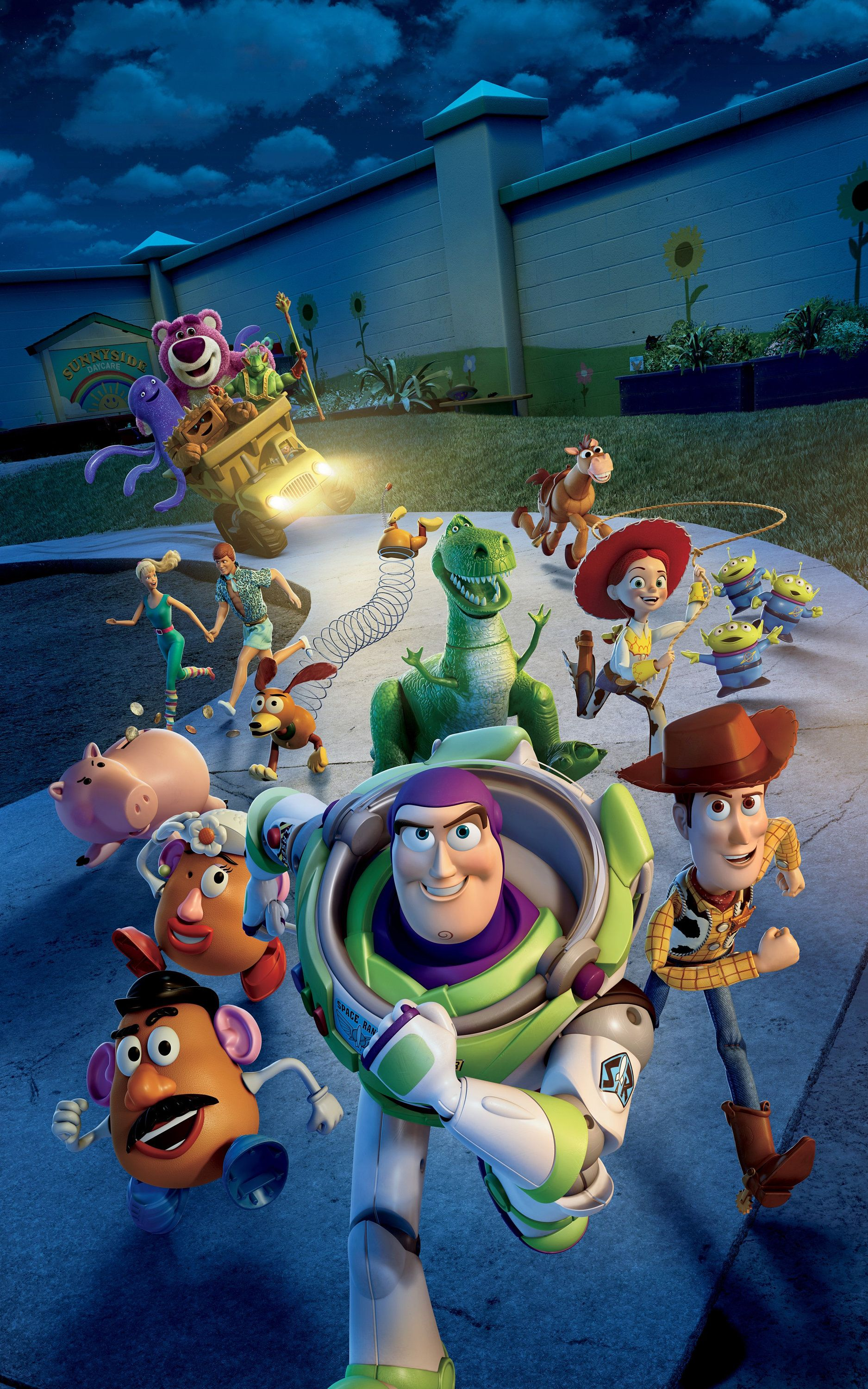 Toy Story 3 (2010) Poster Wall art Print