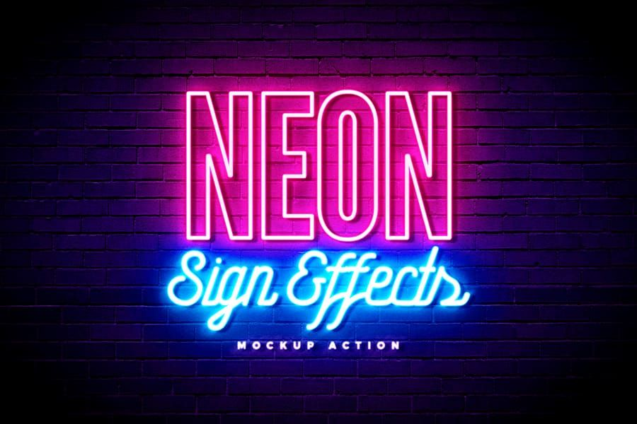 10 Tubular 80 S Free Fonts You Need To Have Indieground Design Neon Signs Neon Text Effects