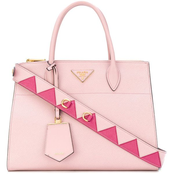 5ba741b611dc Prada Paradigme tote bag (€2.280) ❤ liked on Polyvore featuring bags