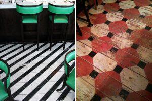 Fußbodenbelag Streichen ~ Kreative streichen ideen für holzbodenbelag in