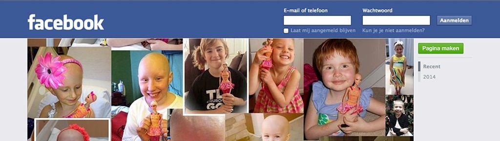 Barbiepop Ella helpt chemotherapie uit te leggen aan kinderen