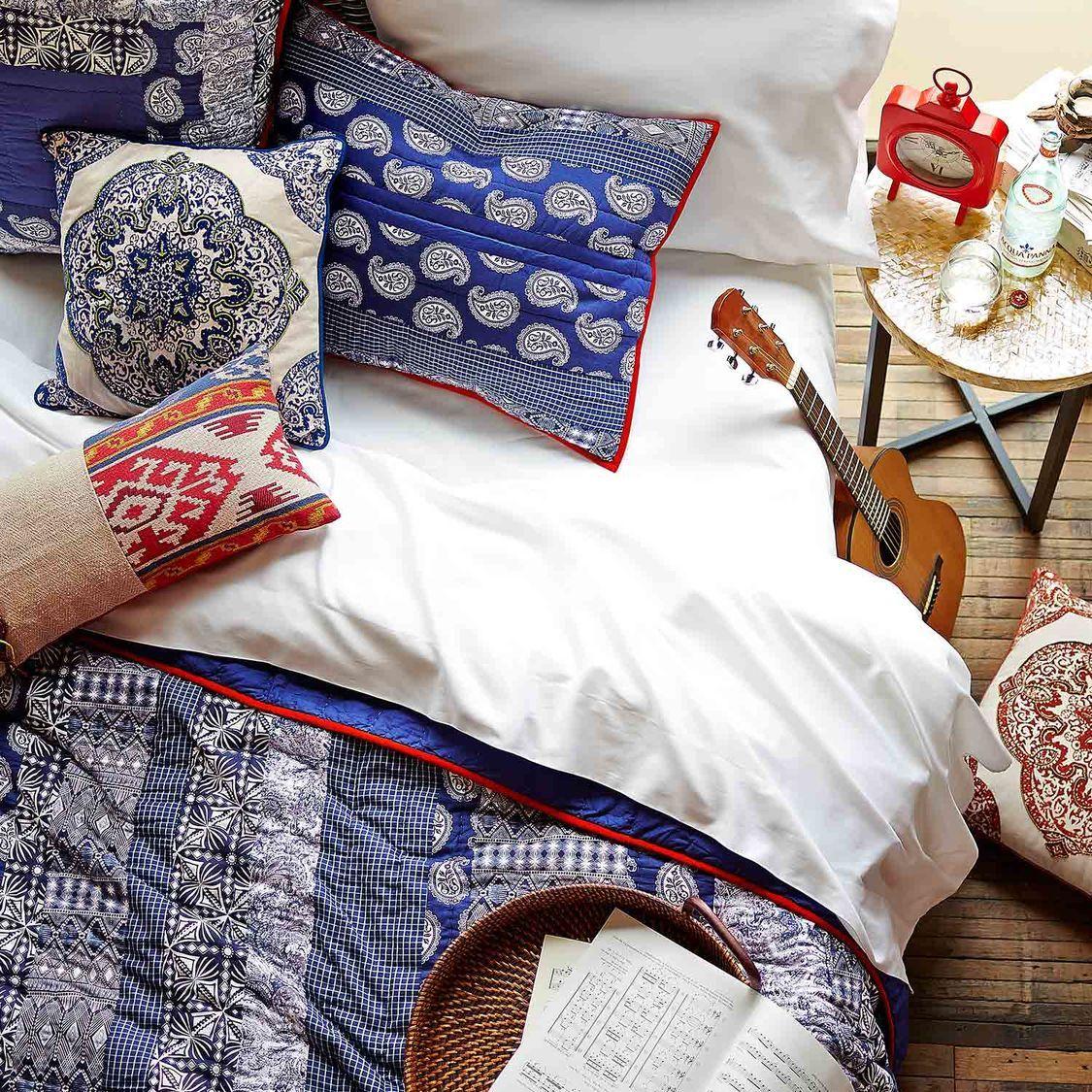 Cordoba Patchwork Quilt & Sham | Pier 1 Imports | Quilts | Pinterest : pier one quilts - Adamdwight.com