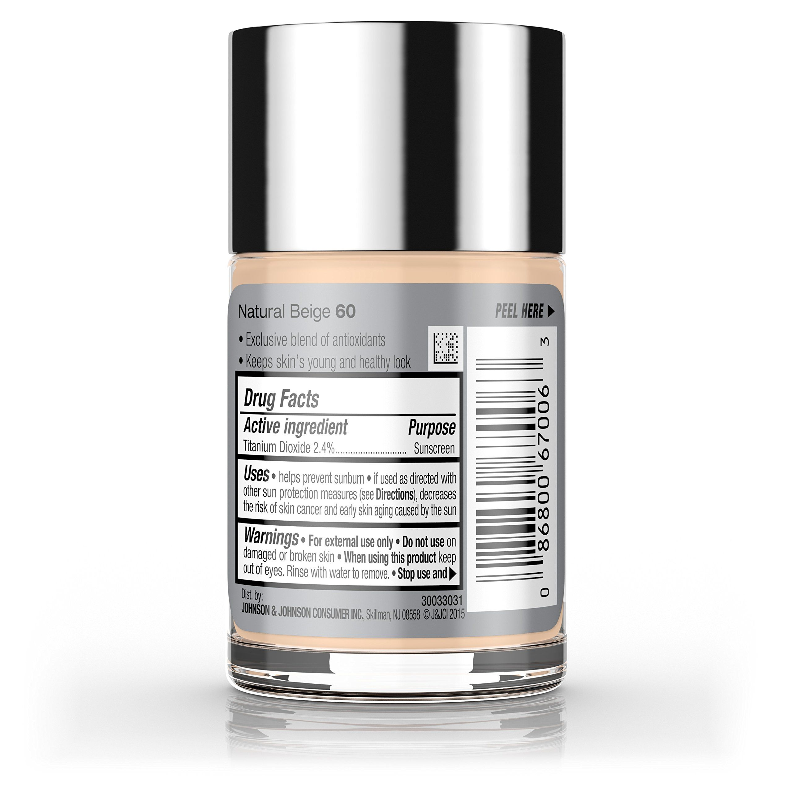 Neutrogena Healthy Skin Liquid Makeup Foundation Broad