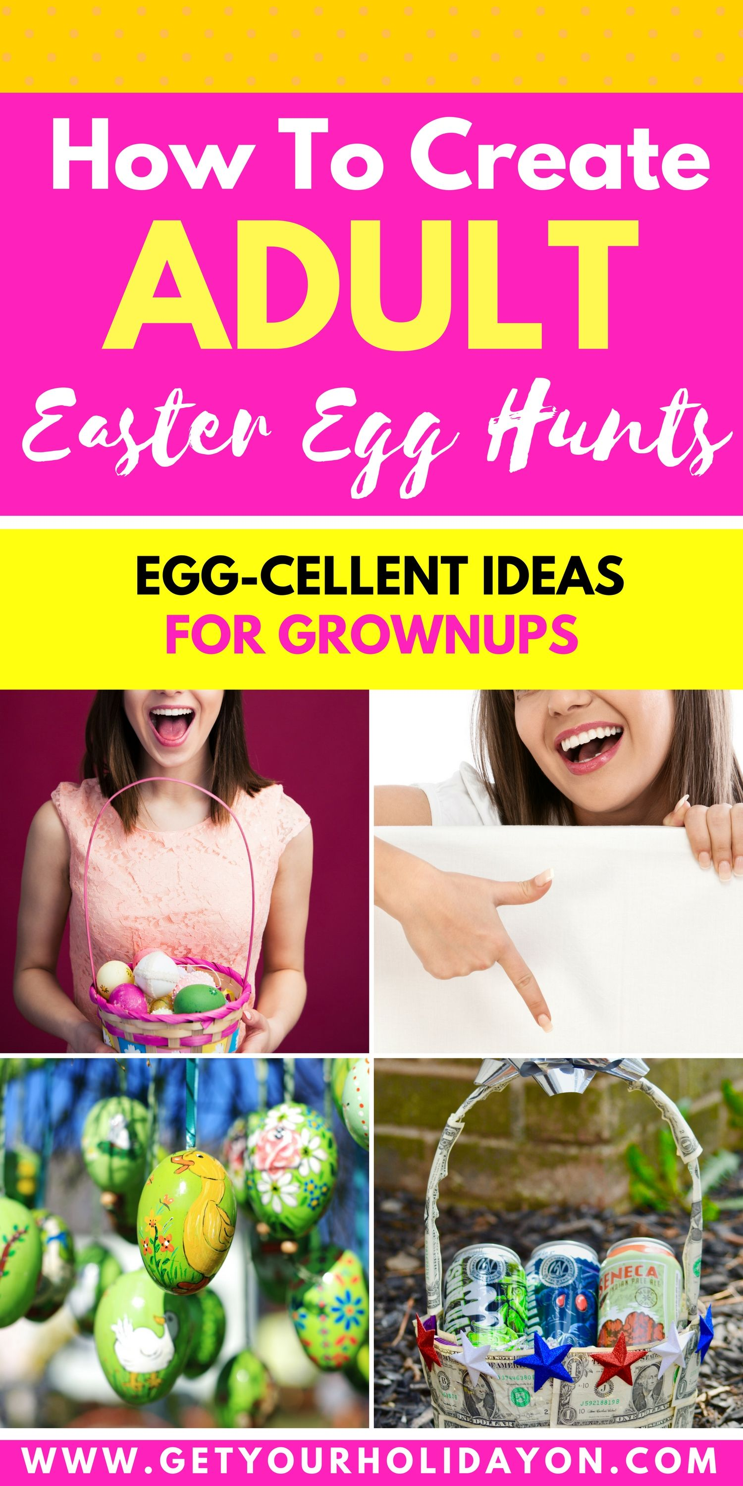 What To Put In Adult Easter Egg Hunt