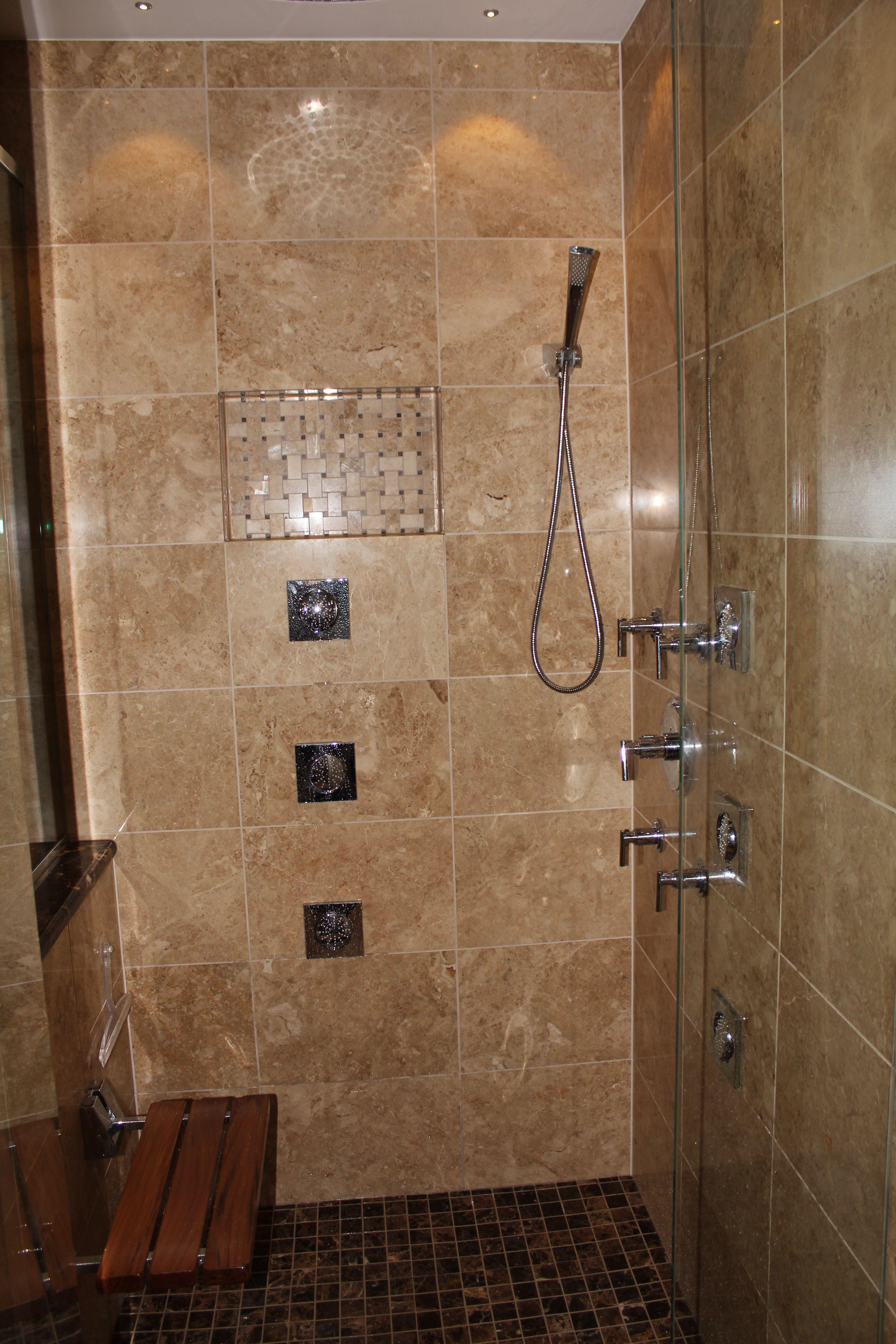 bathroom classic design. Classic Design With A Modern Twist. Bathroom Remodel By @GreenLivingDesigns #GreenLivingDesigns #shower #bathroom #bathroomremodel L