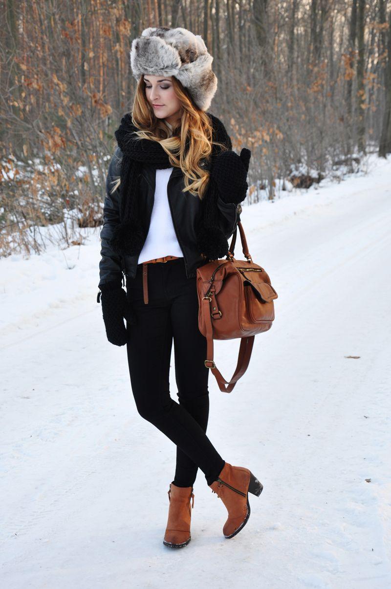 Furry hat | Karina in Fashionland