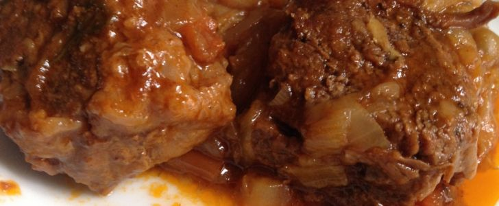 Carne ensopada rápida e fácil