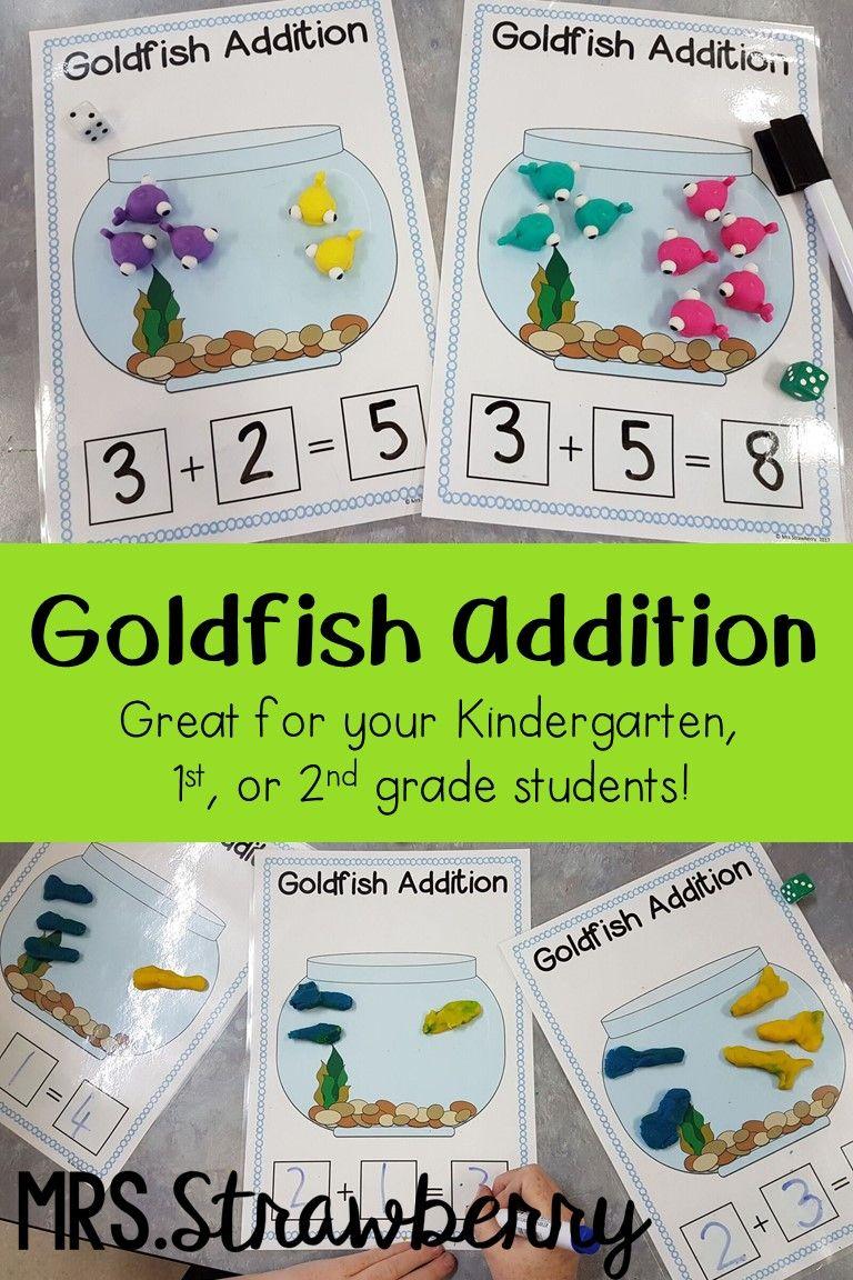 Goldfish Addition Activity Addition activities, Phonics