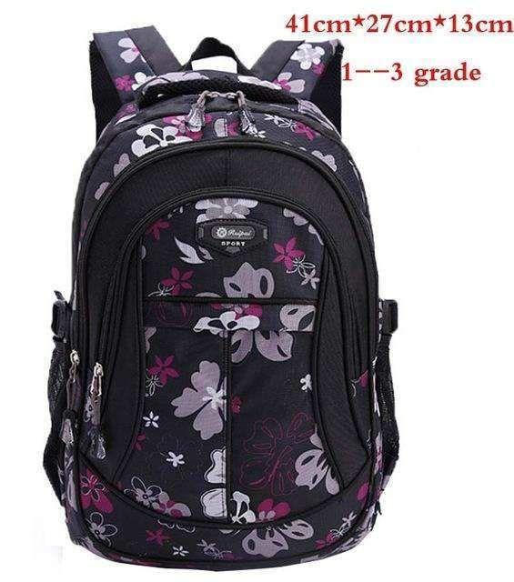 New Floral Printing Children School Bags Backpack For Teenage Girls Boys  Teenagers Trendy Kids Book Bag Student Satchel Mochilas 03991d4ef4c54
