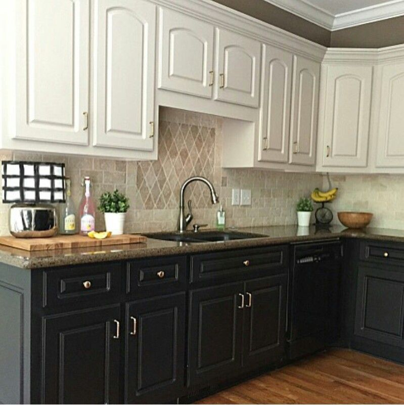 dark lowers light uppers new kitchen cabinets kitchen design kitchen remodel on kitchen remodel dark countertops id=39464