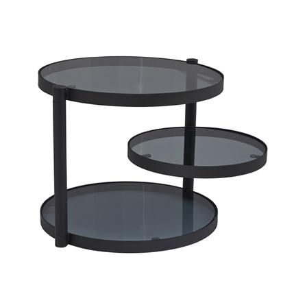 3 Tier Side Table Black Table 3 Tier Coffee Table Design