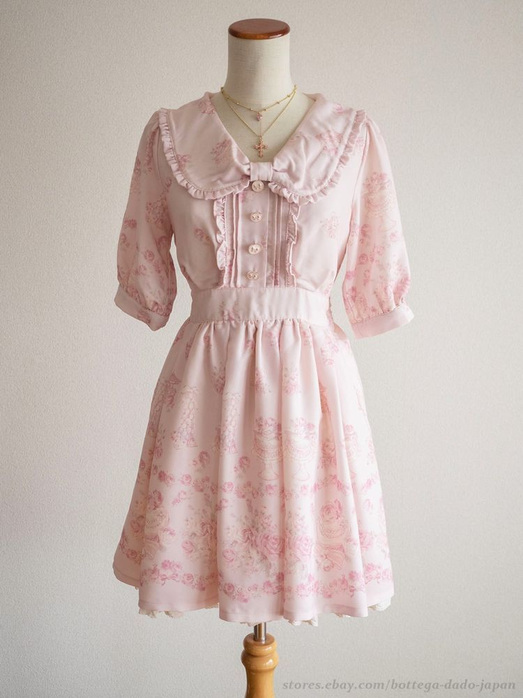 f8c24079b LIZ LISA x My Melody 6th Collab RARE Floral OP Dress Hime Lolita Kawaii  Japan #LIZLISA #Peplum #Shibuya109Lolitafashion