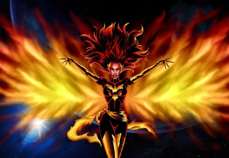 Bad-ass GIF. Famke Janssen as Jean Grey / Phoenix harnessing the ...