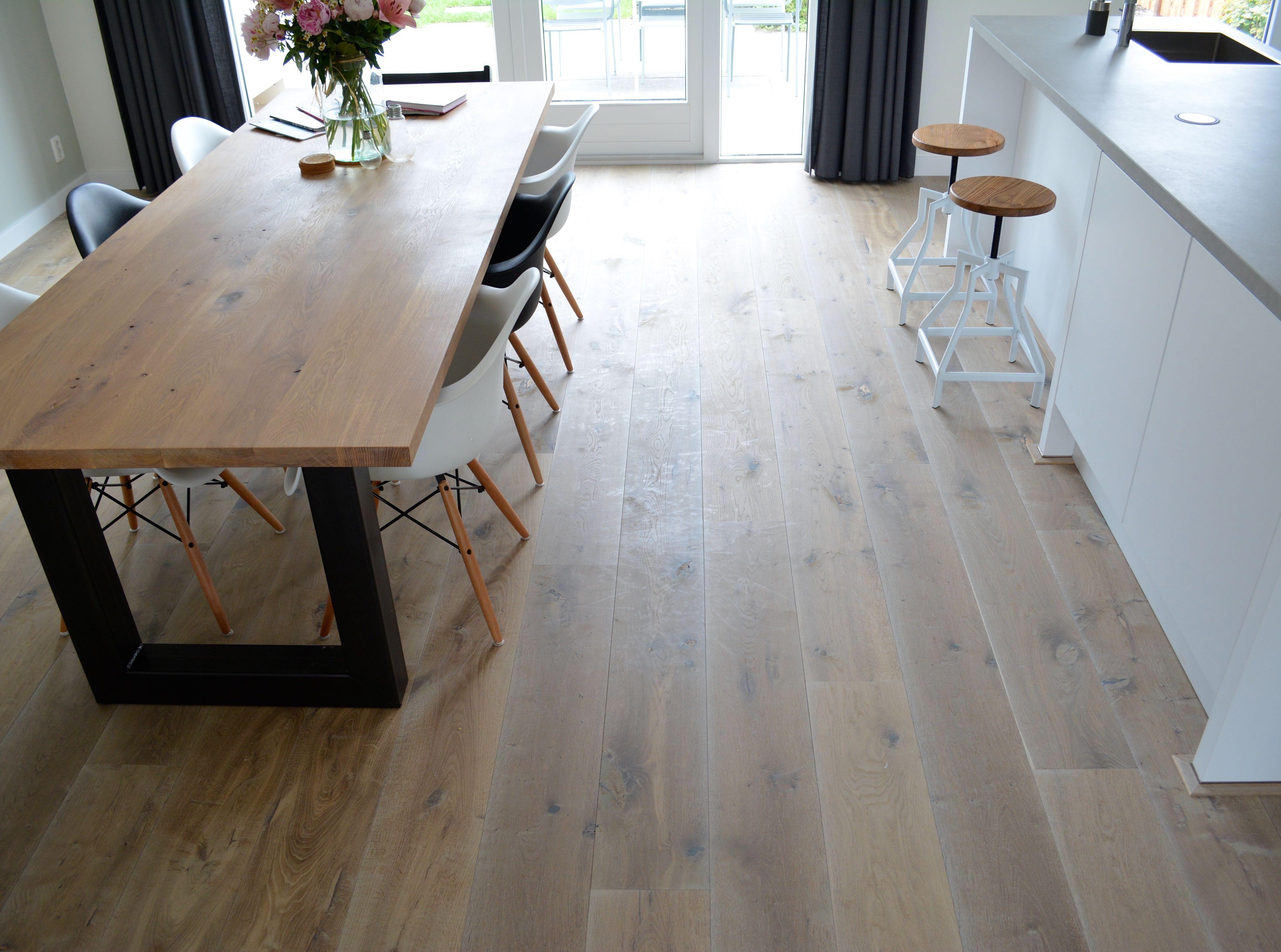 Kern gerookte houten vloer inspiratie houten vloeren pinterest