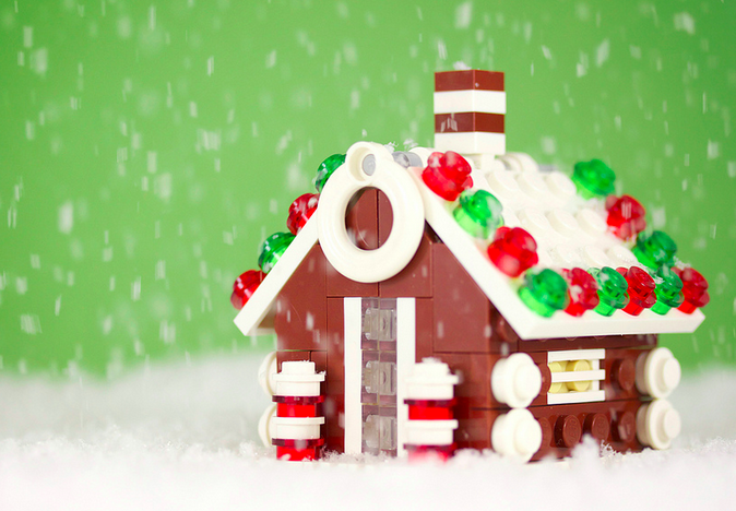 Decorating for Christmas can be done DIY if you want to make it a LEGO Christmas.