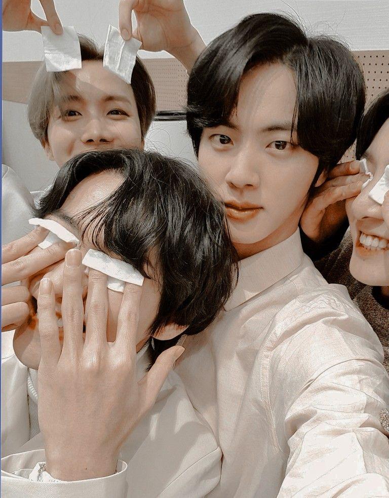 Taejin taekook selca jhope hoseok aesthetic edit pic