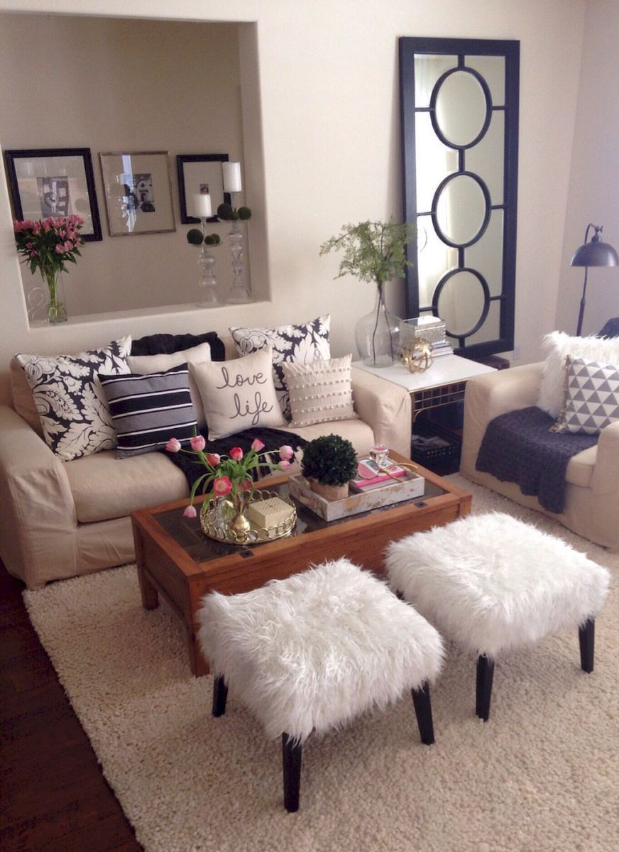 Rental Apartment Decorating Ideas on A Budget (84) | Living Room ...