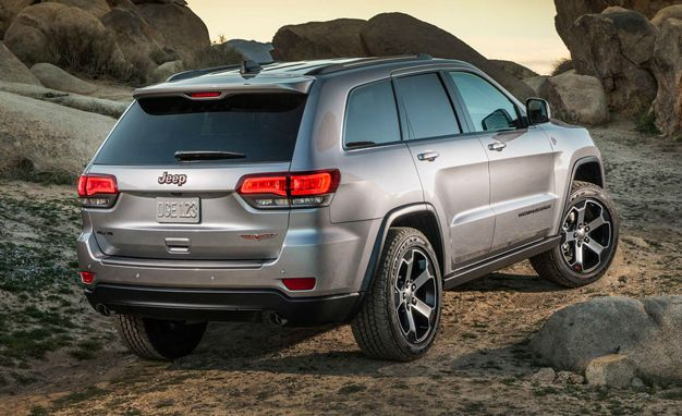 2017 Jeep Grand Cherokee Trailhawk MSRP
