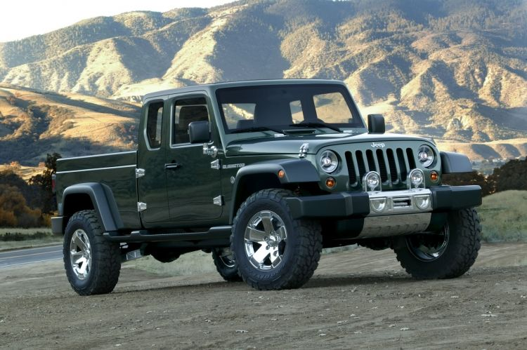 2015 JEEP TRUCK  2015 jeep wrangler redesign pickup truck 2015