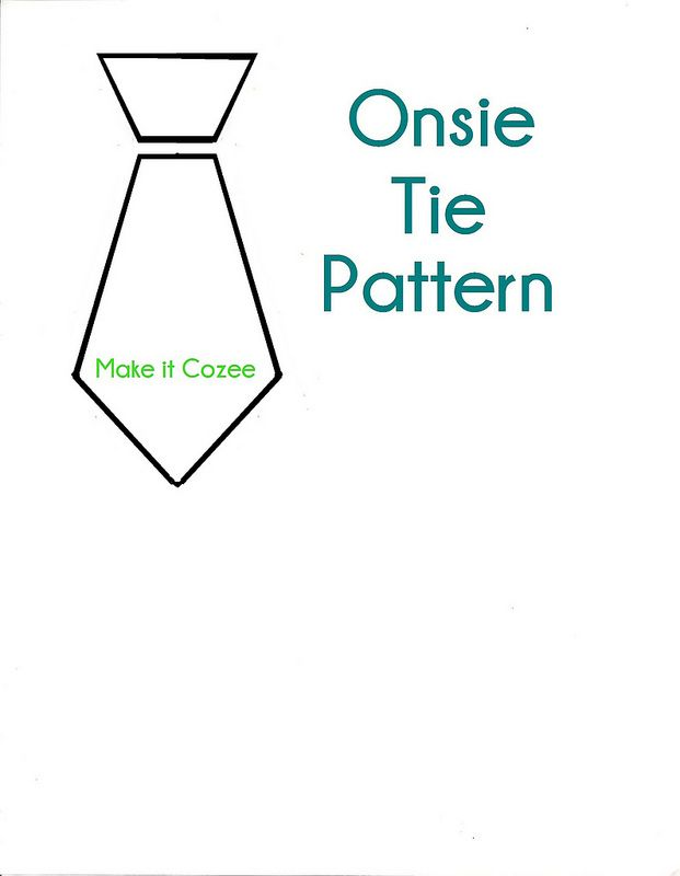 Make it Cozee: Tutorial: How to Make a Tie Onsie | sewing ideas ...