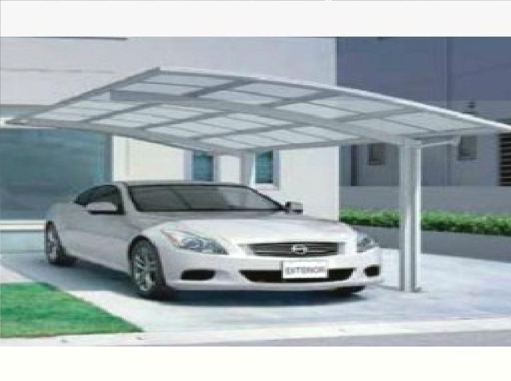 KCR Free Standing Carport/Canopy 5100mm x 2700mm Canopy
