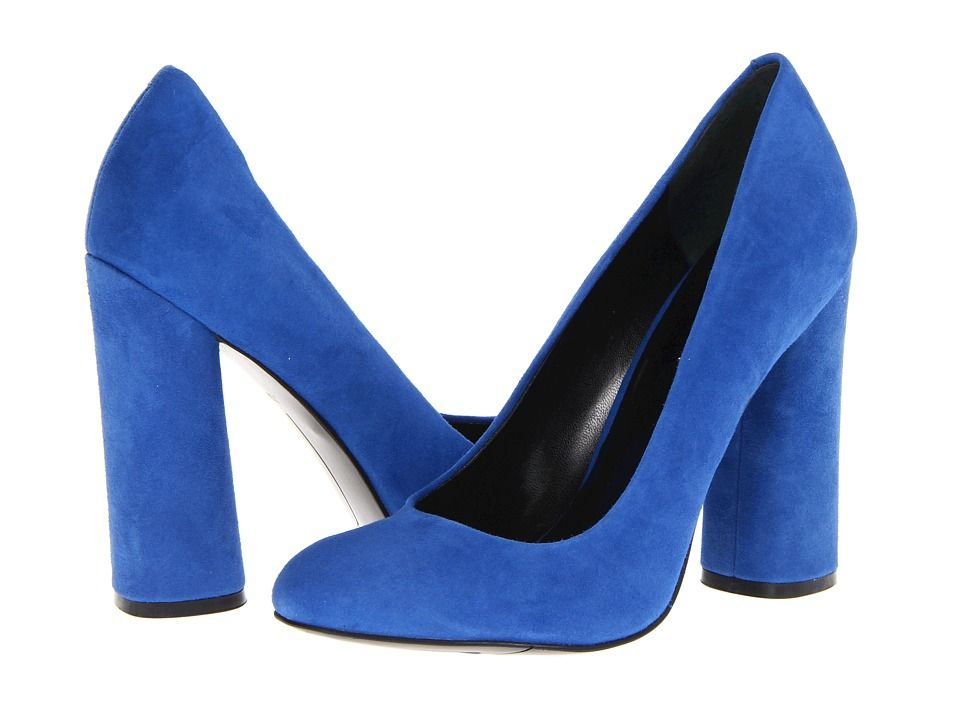 Nine West Miracl Blue Suede