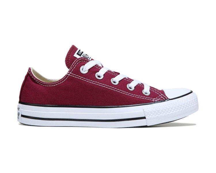 4390b086fa1f7d Converse Chuck Taylor All Star Low Top Sneaker Burgundy