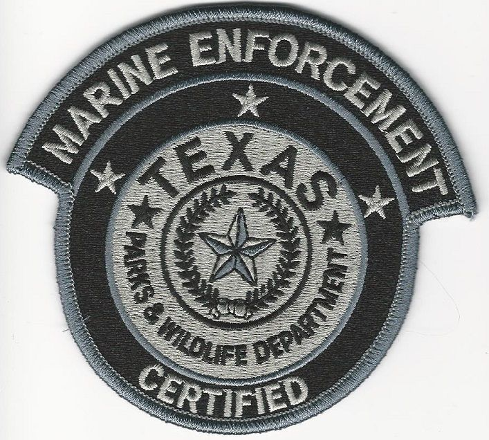Texas State Police DPS Game Warden Marine Enforcement Fish