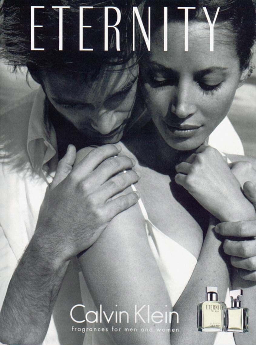 Turlington Christy Calvin Eternity Klein AdEncanto Perfume De b76Ygyf