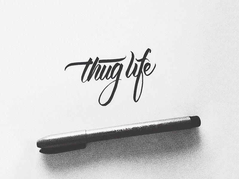 Thug Life Thug life wallpaper, Thug life tattoo, Tupac