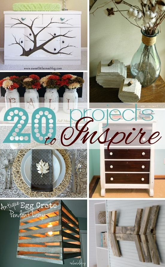 20 Fabulous Pinterest Pin Spired Projects That You Can Diy The