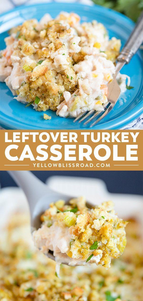 Photo of Turkey and Stuffing Casserole