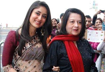 Kareena Kapoor With Her Mom Indian Celebrities Bollywood Actors Bollywood Masala
