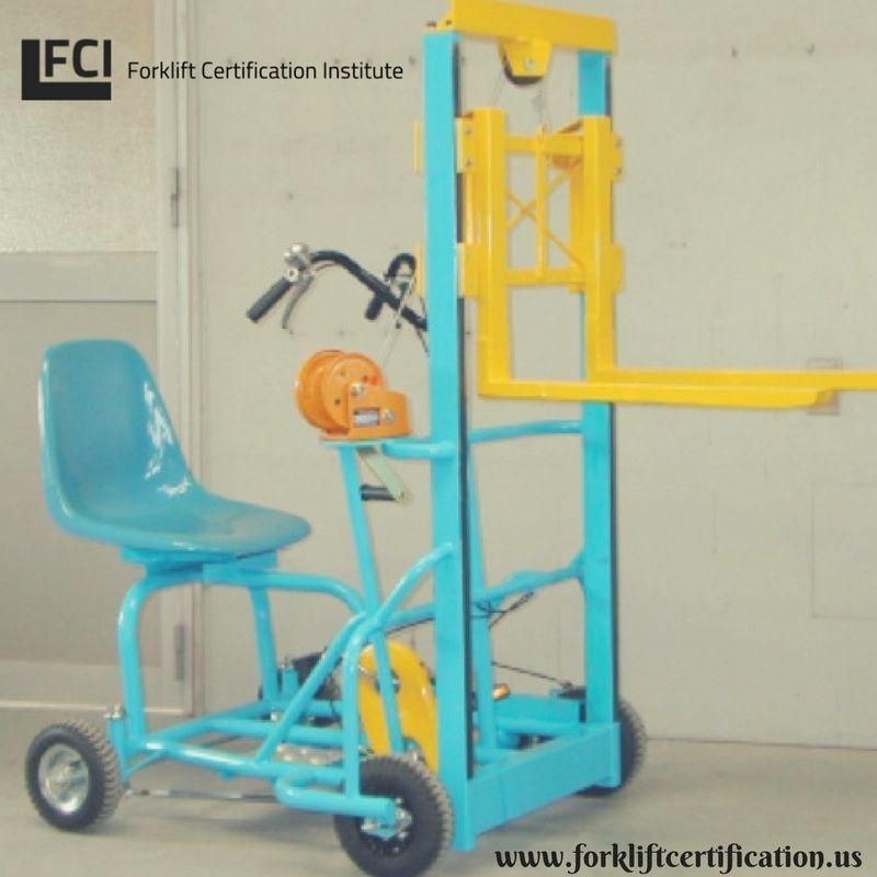 Behold A Bicycle Forklift Forklift Forklifttraining