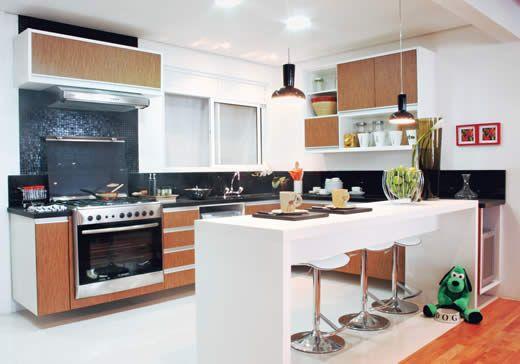 Pictures of cozinha americana sofisticada photo pelauts for Mobilia kitchen table