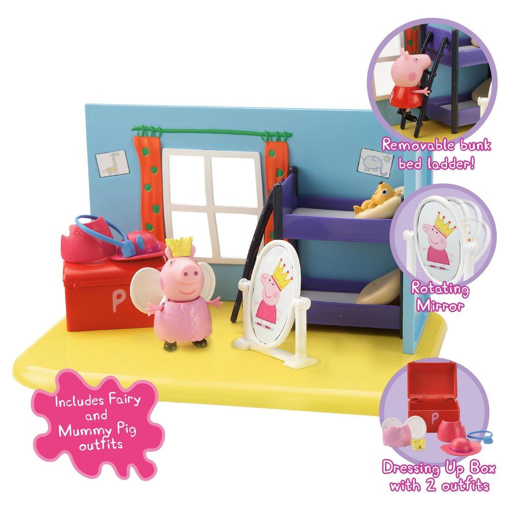 Toys For 5 And Up : Peppa pig toys for girls age to dress up activity