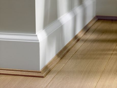 Skirting Board Scotia Added On Quick Step Skirting Board
