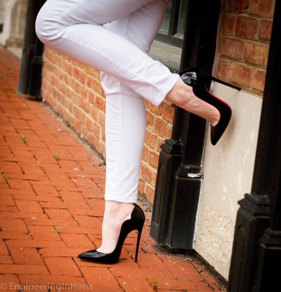 5f181140b4d2 Christian Louboutin 130mm Hot Chick Heels of EngineeringInHeels ...