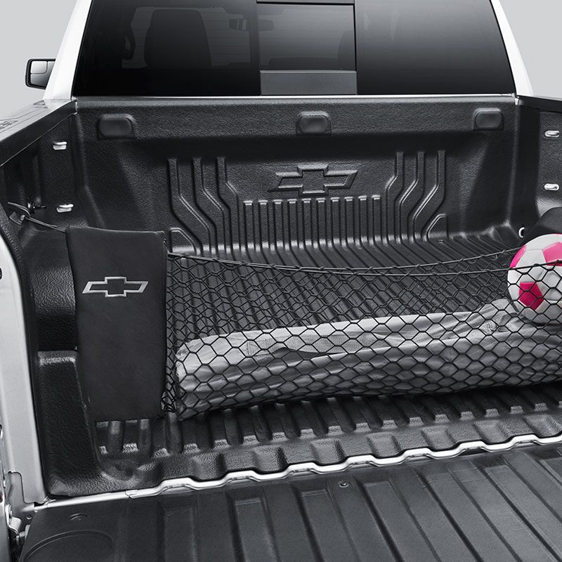 2019 Silverado 1500 Bed Cargo Net, Vertical, Black