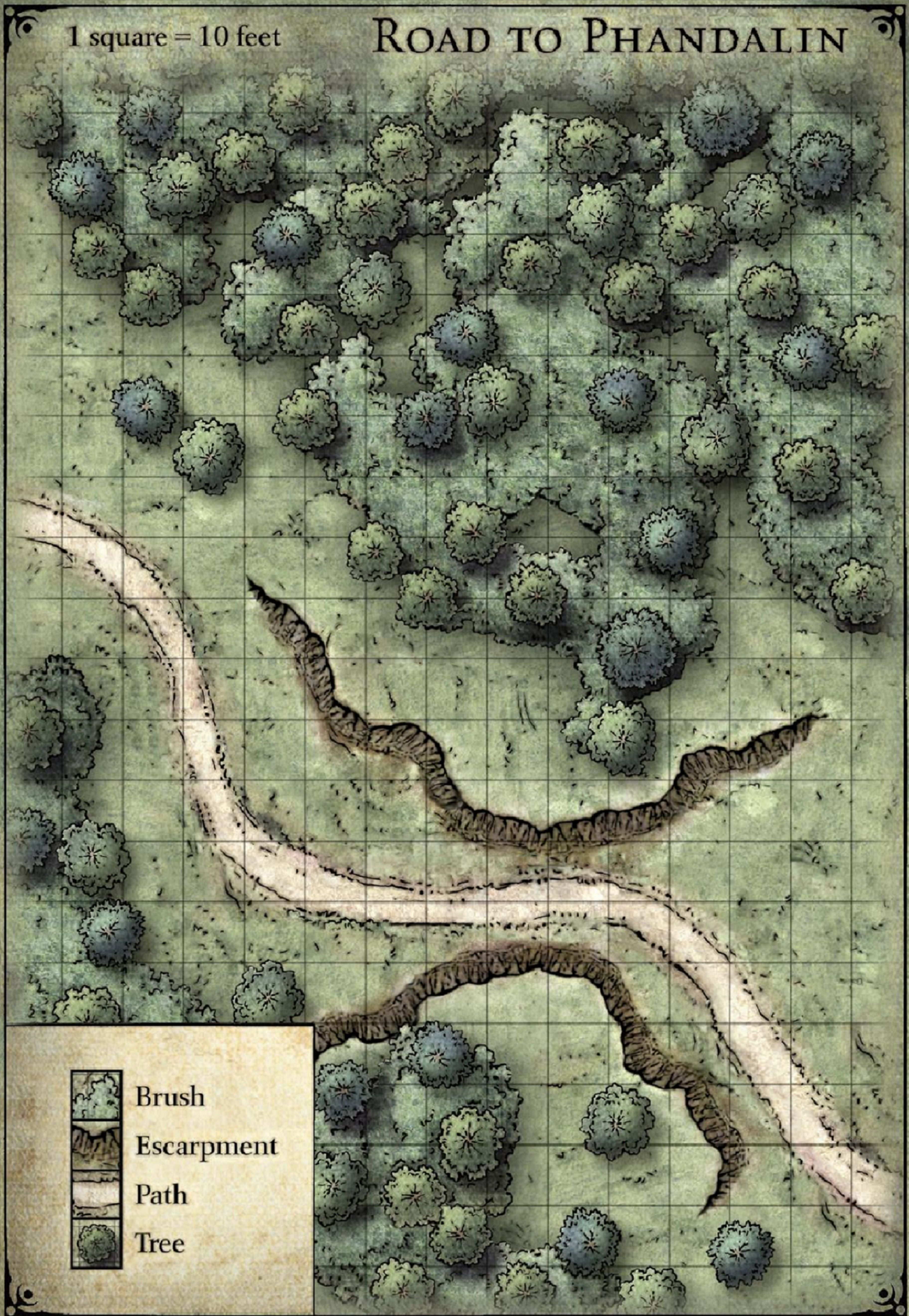 01 Fantasy Map Dungeon Maps Tabletop Rpg Maps