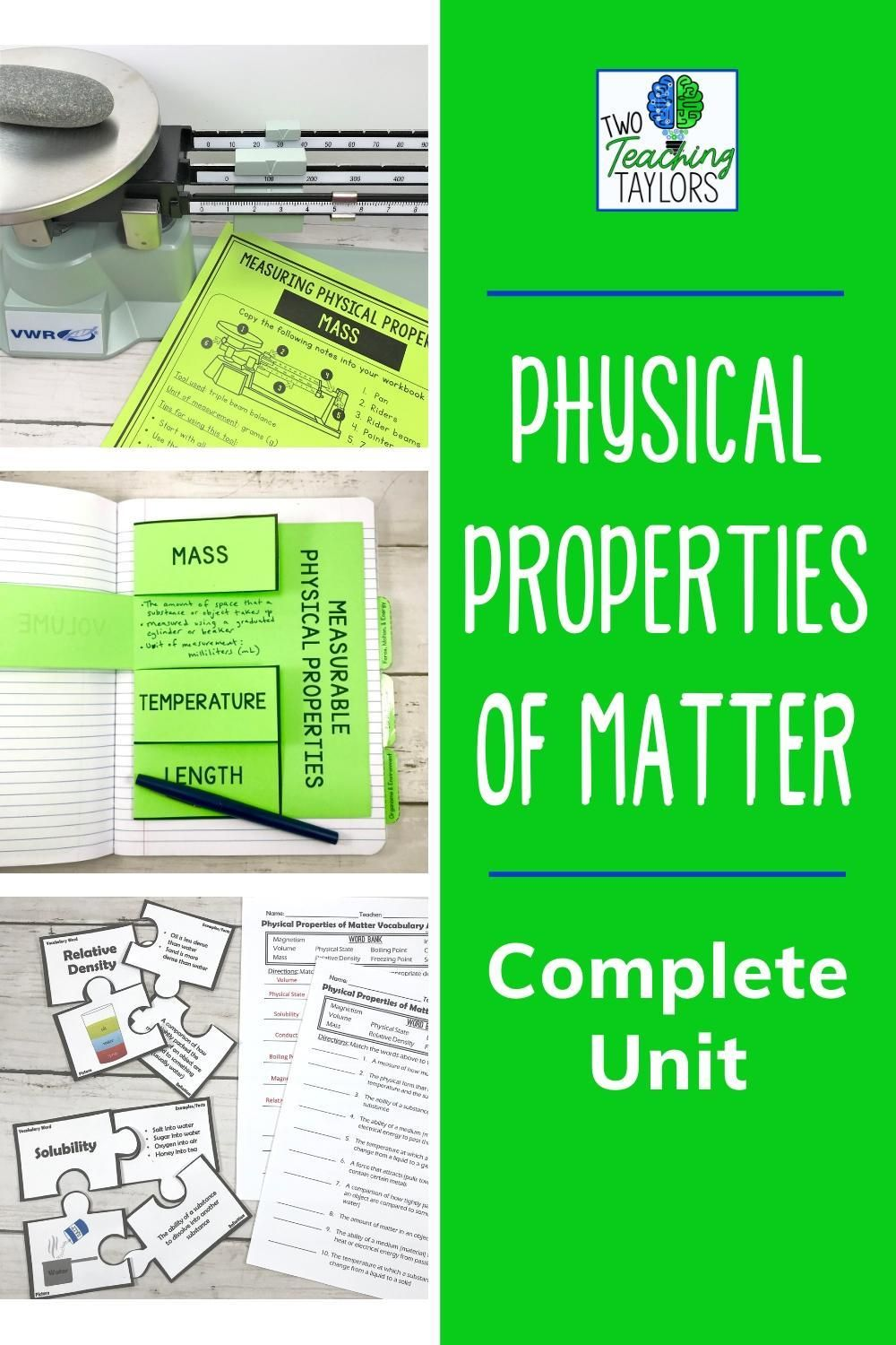 Physical Properties Of Matter Activities Bundle Physical Properties Of Matter Properties Of Matter Physical Science Lessons [ 1500 x 1000 Pixel ]