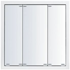 Kraftmaid Traditional 29 In X 28 Square Surface Recessed Mirrored W