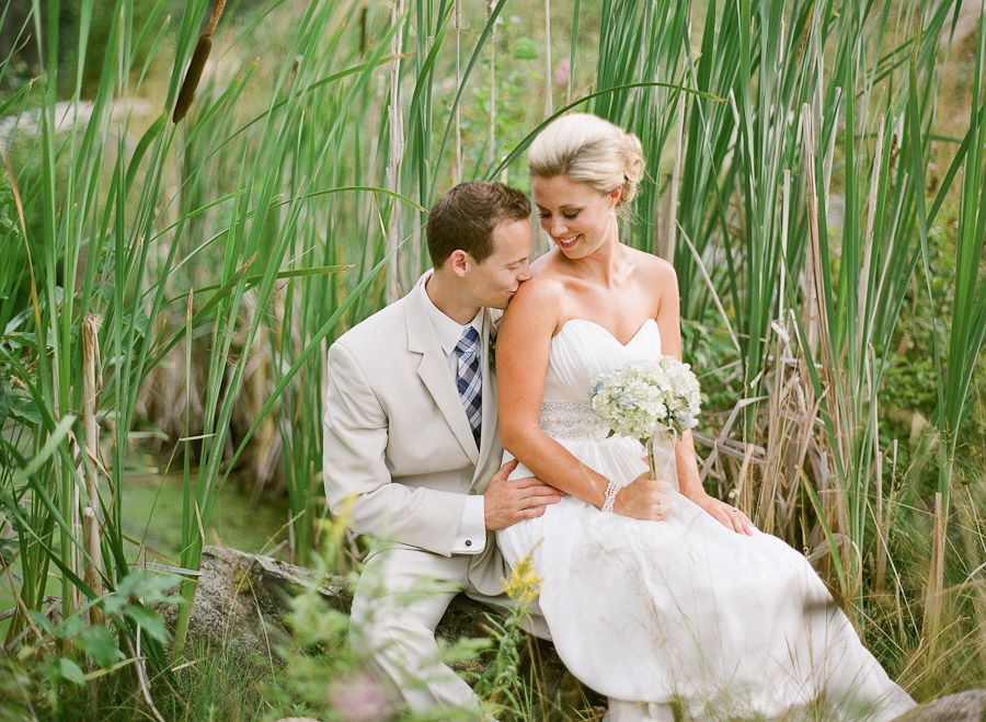 Priest Lake Waterfront Summer Wedding Outside Weddingoutdoor Photographyoutdoor
