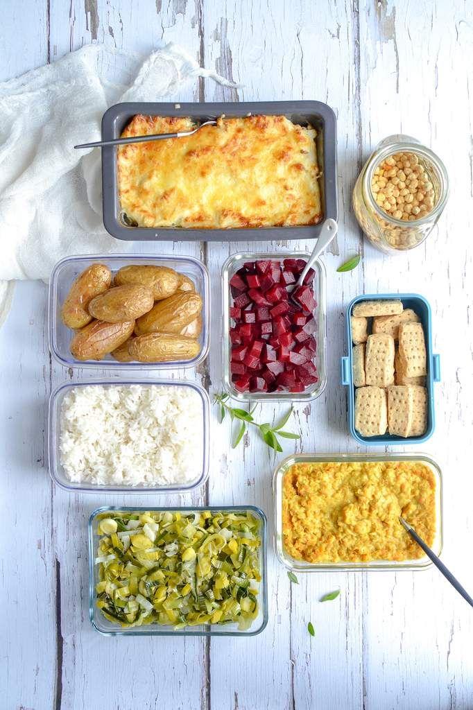 Batch cooking : je prépare mes menus végétariens pour la semaine