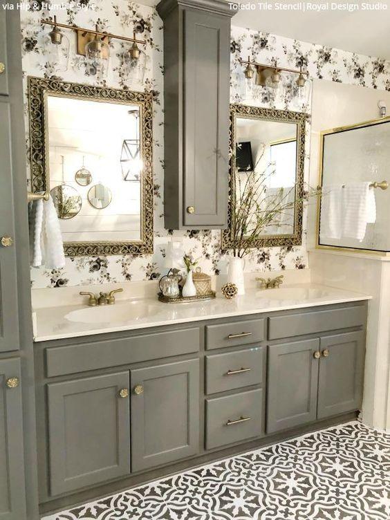 Badezimmerdekorationsmodelle In 2020 Badezimmer Renovieren Badezimmer Design Bad Styling