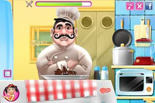 French Chef Cooking - Play Free At: http://flashgamesempire.blogspot.co.uk/2016/11/french-chef-cooking.html