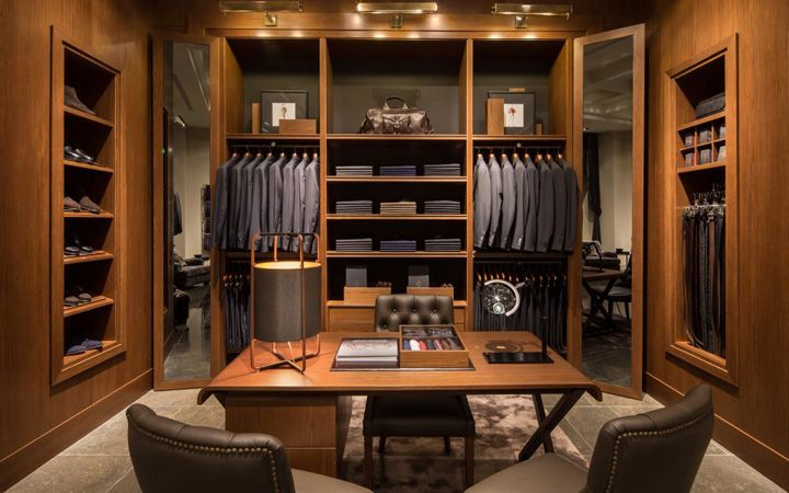 Cabina Armadio New York : Massimo dutti store at fifth avenue new york » retail design blog